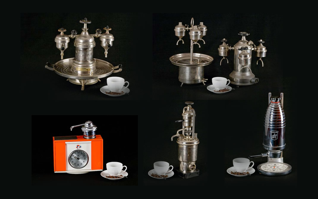 Espresso coffee makers for the home